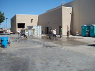 Featured commercial concrete project