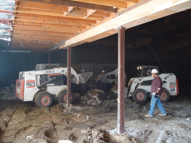 danville Commercial Concrete Projects, Fresh & Easy - RCD Concrete